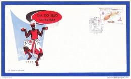 DIA DO SELO ULTRAMAR - CACHET - 1.12.1959 . TIMOR PORTUGUÊS, DILI - East Timor