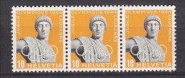 1944  N° 259X     NEUFS**  CATALOGUE ZUMSTEIN - Suisse