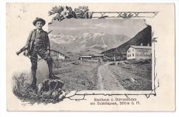 SCALETAPASS: Gasthaus Dürrenboden, Jäger 1917 - GR Grisons