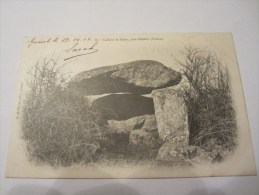 CPA CABANE DE CESAR PRES FELLETIN 1902 - Felletin