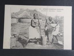 Soudan - Le Pilon à Kous-kous - P 15177 - Sudan
