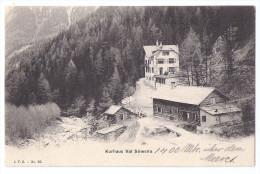 VAL SINESTRA: Kurhaus Mit Sägerei 1908 - GR Grisons