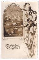 BÜHLER: Neujahrsgrüsse, Foto-AK ~1930 - AR Appenzell Rhodes-Extérieures
