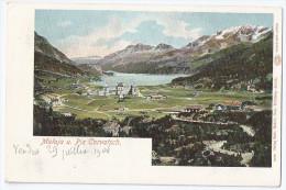 MALOJA: Glaser-Litho ~1900 - GR Grisons