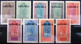 HAUTE-VOLTA                    N° 24/32                      NEUF* - Unused Stamps
