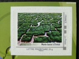 2012_06. Collector Haute Normandie 2012. Marée Basse Etretat. Adhésif Neuf [plage Seaside Algue] - Collectors