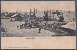 URUGUAY , MONTEVIDEO  ,  OLD  POSTCARD - Uruguay