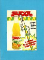 SUCOL - O Sumo Da Palhinha Suga-suga - Autocolante Sticker Bebida Refrigerante - PORTUGAL - Autocollants