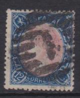 02132 España EDIFIL 76 O Catalogo 84,- - 1850-68 Reino: Isabel II