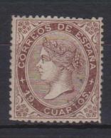 02141 España EDIFIL 101 O Catalogo 735,- - 1850-68 Reino: Isabel II