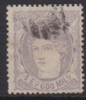 02143 España EDIFIL 111 O Catalogo 1.475,- - Used Stamps