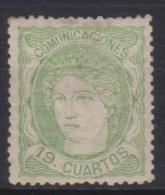 02146 España EDIFIL 114 * Catalogo 570,-€ - 1868-70 Provisional Government
