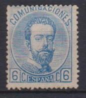 02148 España EDIFIL 119 (*) Catalogo 210,-€ - 1872-73 Regno: Amedeo I
