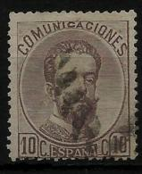 02151 España EDIFIL 120 O  Catalogo 395,-€ - 1872-73 Reino: Amadeo I