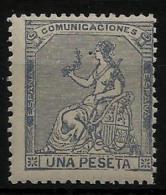 02158 España EDIFIL 138 (*), Catalogo 77,-€ - 1873 1. Republik