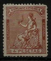 02159 España EDIFIL 139 (*), Catalogo 990,-€ - 1873 1. Republik