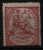 02164 España EDIFIL 151 * , Catalogo 1120,-€ - 1873 1. Republik