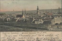 SOPRONOL OEDENBURG, HUNGARY, PC , Circulated 1906 - Ungarn