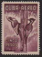 CUBA/KUBA 1962 AVES - 5 PESOS - Cuba