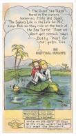 Gunzenhauser Bakery American Maid Trade Card Bread Dotty Bob Trix Central Europe Sea Turtle - Trade Cards