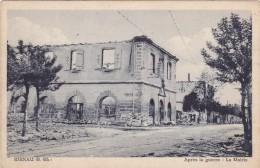Carte Postale, La Mairie Après Guerre, Rhinau - France
