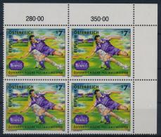 **Österreich Austria 1998 ANK 2283 Mi 2250 (1) Block Of 4 Football Austria Memphis Sport MNH - 1945-.... 2. Republik