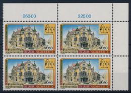 **Österreich Austria 1998 ANK 2296 Mi 2263 (1) Block Of 4 Composer Franz Lehar Volksoper MNH - 1991-00 Unused Stamps