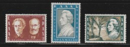 Greece 1957 Dionyssios Solomos Set MNH W0015 - Nuovi
