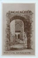 Castle Rushen - Portcullis Of The Keep - Isle Of Man