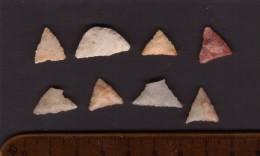 Un Lot De Six Pointes De Flèche (Sahara) - Archéologie