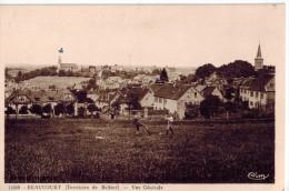 CPA BEAUCOURT (Territoire De Belfort): Vue Générale - Beaucourt