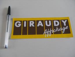 Autocollant - GIRAUDY AFFICHAGE - Commerce - Adesivi