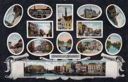 Groeten Uit LEIDEN - Gel.1926, Ohne Marke, Rückseitig Leicht Beschädigt - Leiden