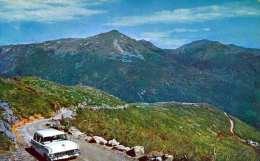 Mt.WASHINGTON AUTO ROAD WHITE MOUNTAINS, Alter Strassenkreuzer, Karte Per LP Gel.1954 - Non Classés