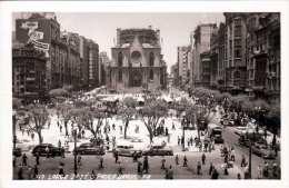 SAO PAULO (Brasil) - Largo Da Sè S.Paulo, Alte Autos, Fotokarte Gel.1940? - São Paulo