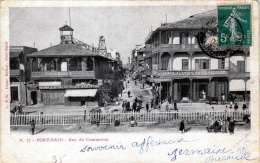 PORT SAID - Rue Du Commerce, Gel.1903 - Port Said