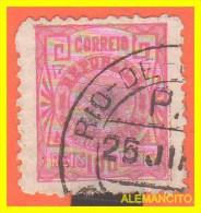 BRAZIL - SELLO AÑO 1891 -. LIBERTY HEAD - Brasil