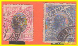 BRAZIL - 2 SELLOS  AÑO 1893 -. - Usados