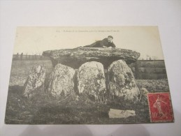 CPA DOLMEN DE LA CHADROLLE PRES LA SOUTERRAINE 1907 - La Souterraine