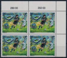 **Österreich Austria 1999 ANK 2309 Mi 2278 (1) Block Of 4 Football Sturm Graz Sport MNH - 1945-.... 2. Republik