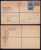 E0120 JORDAN 1962, Registered Cover Jerusalem To England - Jordanie
