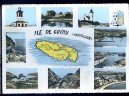 Cpsm Du 56  Ile De Groix Multi Vues JAN16 6 - Groix