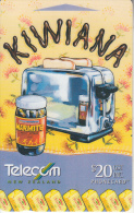 NEW ZEALAND(GPT) - Kiwiana 4/Marmite & Toaster, CN : 511D0 + 6 Digits(normal 0), Tirage %30000, Used - Nieuw-Zeeland