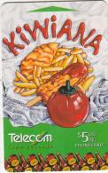 "NEW ZEALAND(GPT) - Kiwiana 2/Fish ""n""chips, CN : 512B0 + 6 Digits(normal 0), Used - Nieuw-Zeeland"