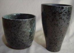 2 Japanese Ceramic Cups - Ceramics & Pottery
