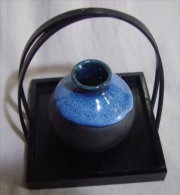 Small Japanese Ceramic Vase - Ceramics & Pottery
