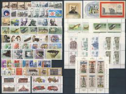 DDR Michel No. 3063 - 3139 ** postfrisch Jahrgang 1987 komplett