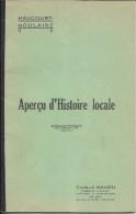 54 HAUCOURT MOULAINE LONGWY  APERCU  HISTOIRE LOCALE 1932 - Documents Historiques