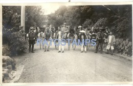 27486 JAPAN JAPON KIOTO GARDEN MIYAKO HOTEL & COSTUMES RISCHAW YEAR 1923 13.5 X 8 CM PHOTO NO POSTAL POSTCARD - Non Classificati