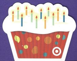 Unique Cup Cake Shaped Target Gift Card - Gift Cards